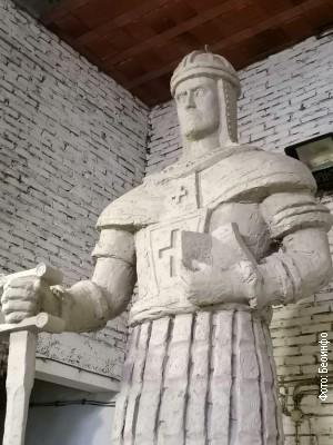 Svečano otkrivanje spomenika despotu Stefanu Lazareviću u Beogradu 19. aprila