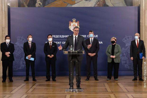 Vučić: Dolazak