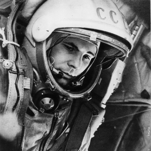 "Jurij Gagarin u ""Vostoku"""