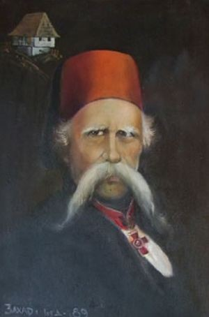 Vuk Karadžić - slika Milutina Popovića Zahara