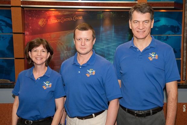 Posada Sojuza TMA-20: Ketrin Koleman, Paolo Nespoli i Dimitrij Kondratjev
