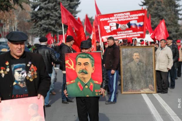 Прослава Стаљиновог рођендана у његовом родном Горију, 21. децембра 2019.