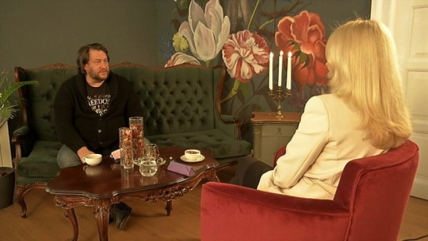 Mane Šakić i Tamara Drezgić na snimanju emisije