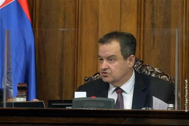 Dačić: Dijalog uz posredstvo EP neće početi pre juna
