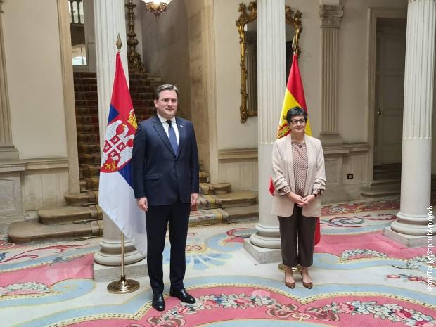 Selaković s ministarkom spoljnih poslova Španije