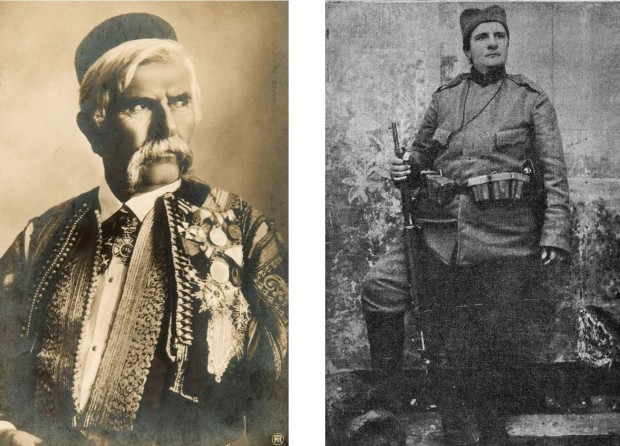 Deda Marko Miljanov i majka Milica Lazović, srpski dobrovoljac u Prvom svetskom ratu