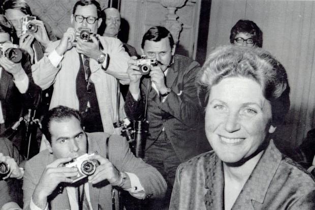 Svetlana Alilujeva u Njujorku 1967.