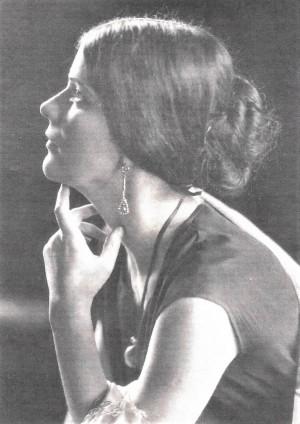 Olga Lazović u Tiflisu 1917.