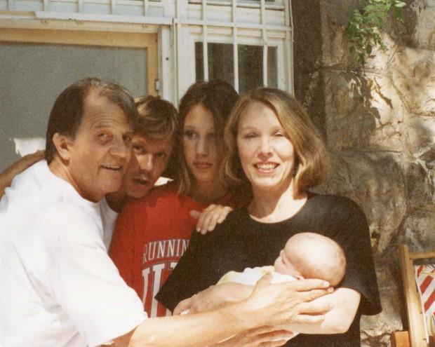 Dana Todorović sa porodicom
