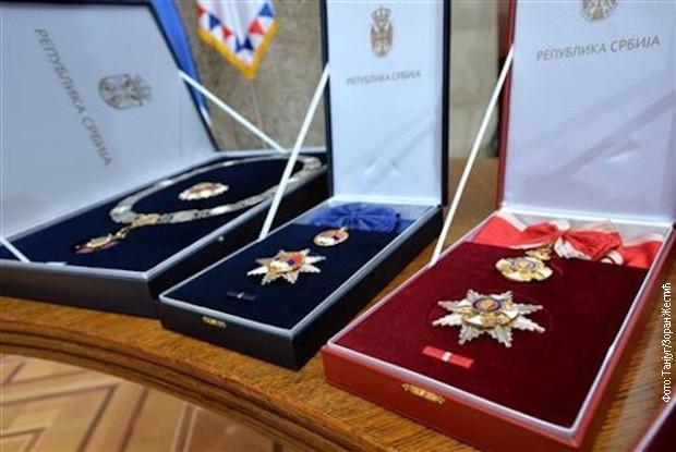 Uručena odlikovanja zaslužnim pojedincima i institucijama povodom Vidovdana