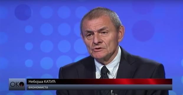 """Небојша Катић током гостовања у емисији """"ОКО"""""""