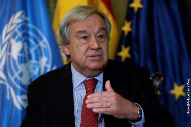 Guteres: Svetu preti uragan humanitarnih kriza