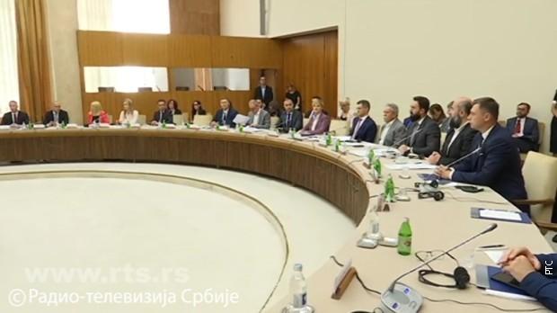 Sastanak u okviru dijaloga vlasti i opozicije uz posredovanje EP 9. jula