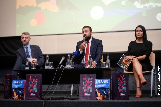 Kanton Sarajevo lekare u Srbiji časti odmorom u tom gradu kao zahvalnost za vakcine (sa današnje konferencije)