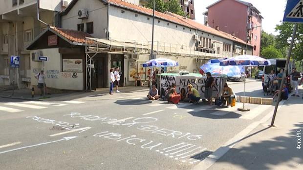 Protest na Karaburmi