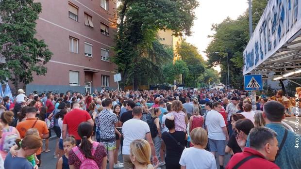 Novi protest na Karaburmi
