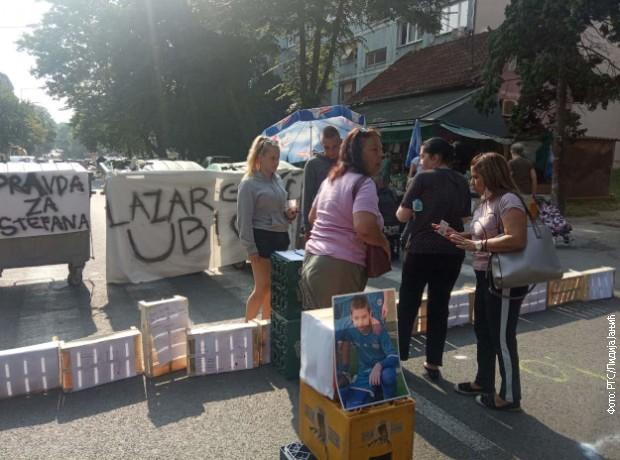 Blokirana ulica Marijane Gregorna na Karaburmi