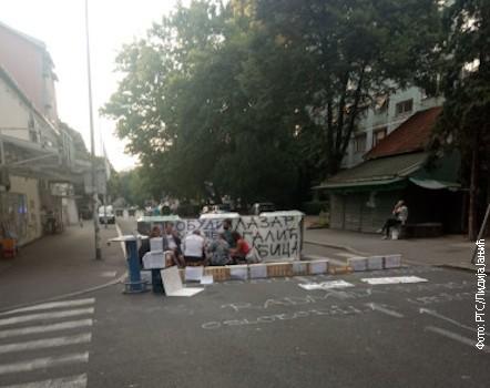 Blokirana Ulica Marijane Gregoran na Karaburmi
