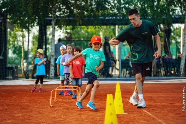 Treneri su najmlađima održali javni čas