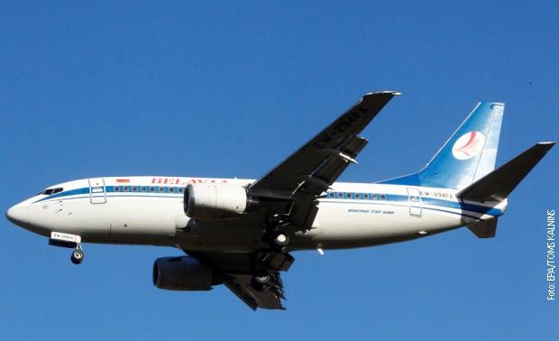 Beloruski avion sleteo u Moskvu nakon slanja hitnog signala