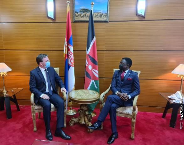 Selaković u Najrobiju: Prijateljski odnosi dve zemlje, potencijal za saradnju u raznim oblastima