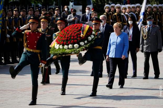 Angela Merkel u Moskvi