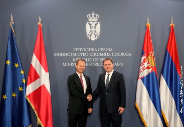 Selaković Kofodu: Zahvalnost Danskoj na podršci Srbiji na EU putu