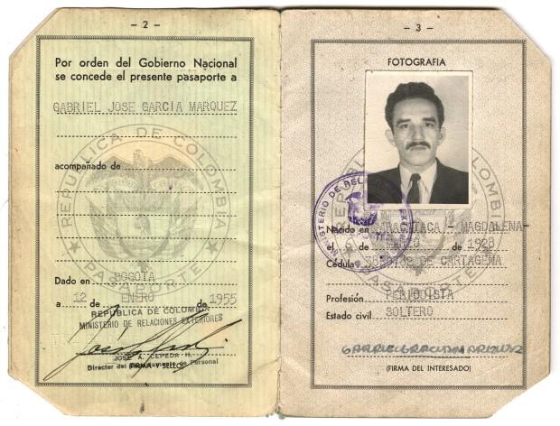 Маркесов пасош 1955.