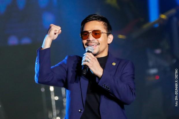 Mani Pakjao kandidat za predsednika Filipina
