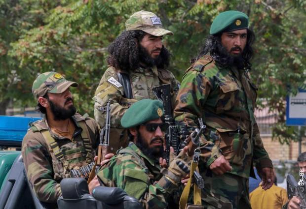 Талибанска патрола у Кабулу, 29. септембар 2021.